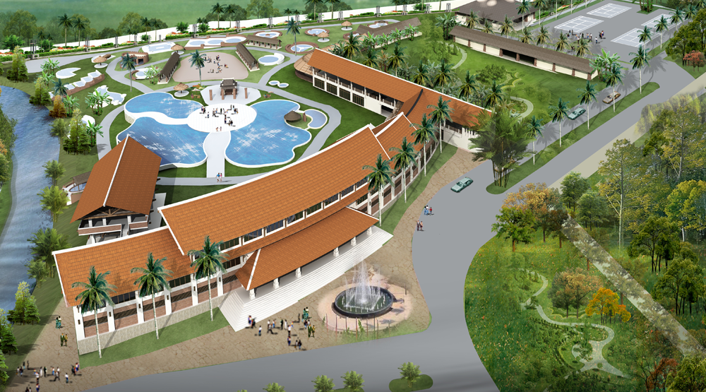 Khu du lịch sinh tháI cao cấp  Asean resort & spa