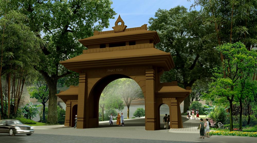 Cổng Phật Tích