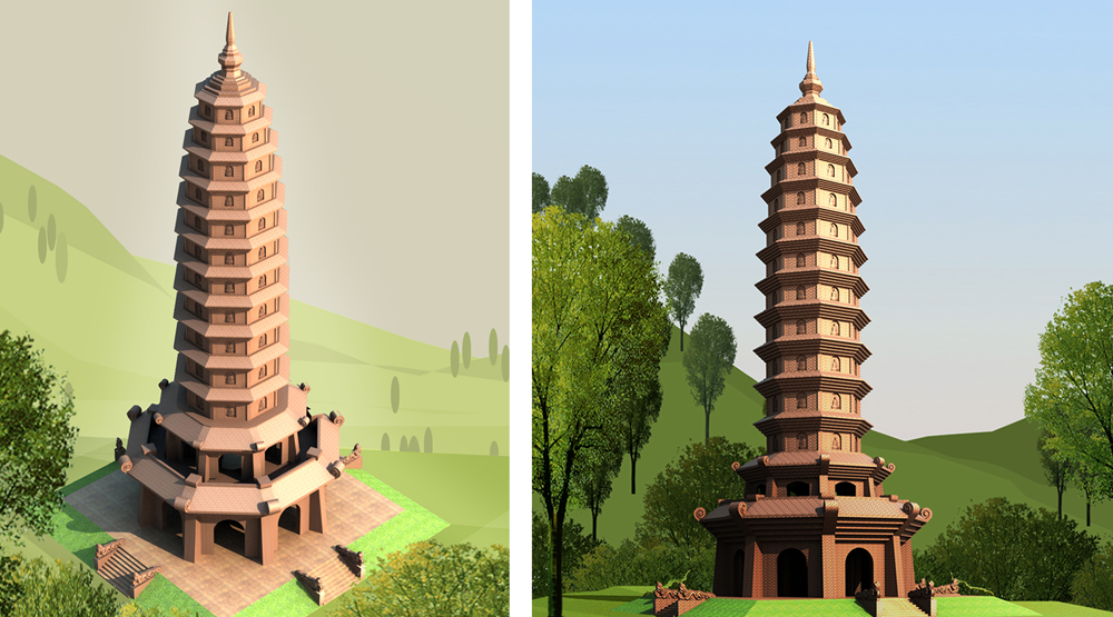 Tháp Phật Tich
